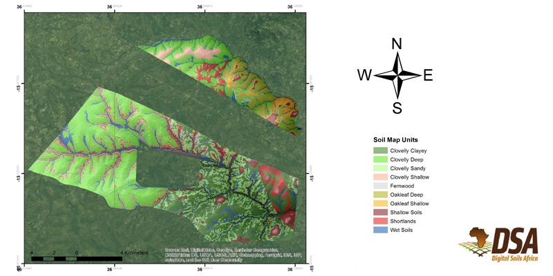 Mozambique Soil Map
